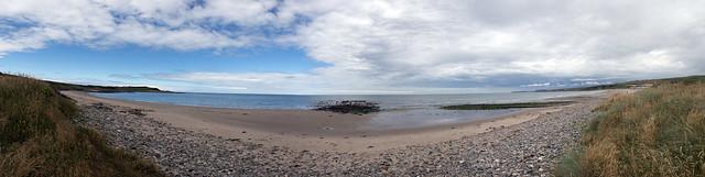 2018 Scotland day 05-29 Boyndie Bay panorama