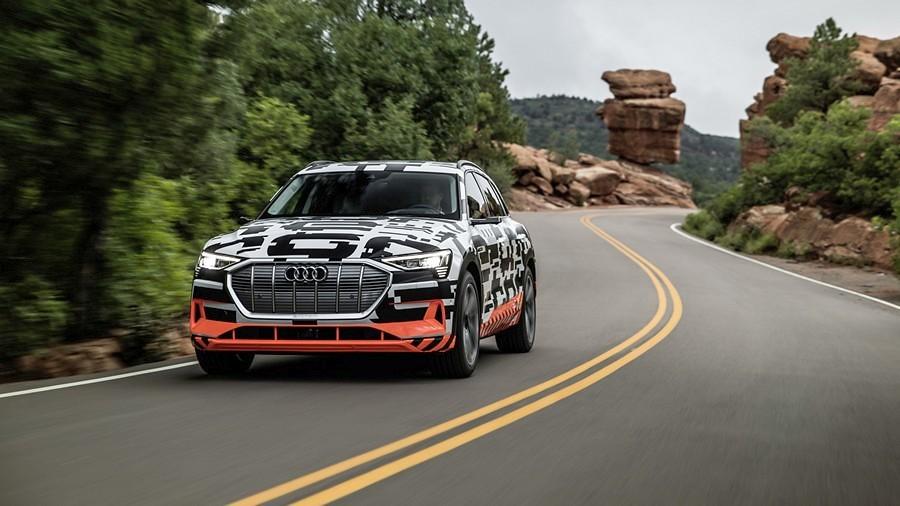 Audi e-tron rekuperacija 5