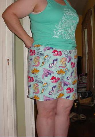 pony shorts 3