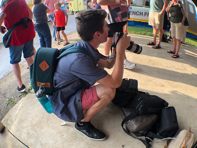MIPA photo class at the carnival