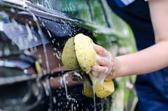 lavar una casa rodante