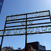 """Chmera"" aka ""Right Turn for Reparations"" by Pope. L at The High Line in Chelsea in Manhattan in New York City, NY"