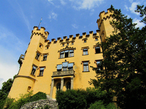 main building at Hohenschwangau Castle