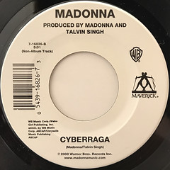MADONNA:MUSIC(LABEL SIDE-B)
