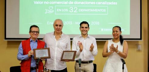 Conmemoración de la APC a la AECID por sus 30 años de trabajo en Colombia.
