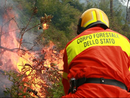 prevenzione incendi carabinieri forestale