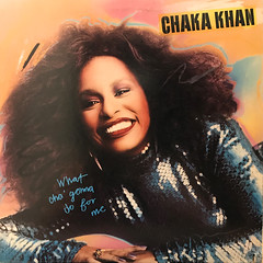 CHAKA KHAN:WHAT CHA' GONNA DO FOR ME(JACKET A)