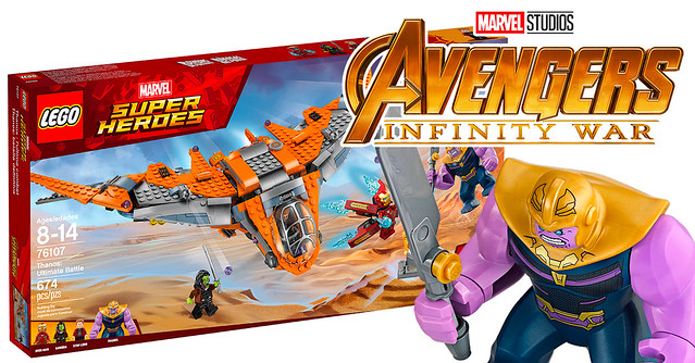 REVIEW LEGO Marvel 76107 Thanos Ultimate Battle