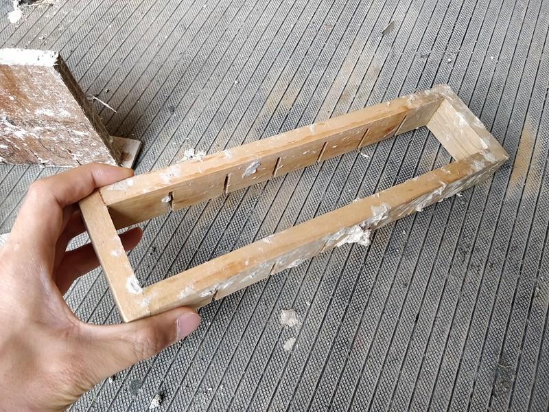 ダンボールブロックの制作 (2)