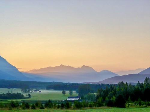 Sunrise in Tirol, Austria