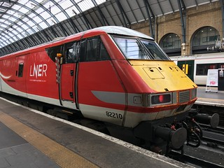 82210  in its new LNER livery