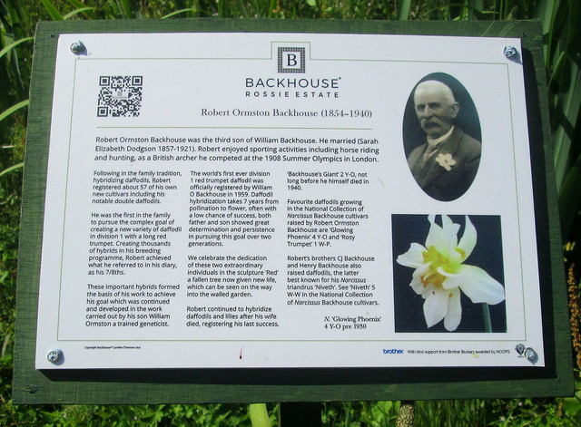 Information Board, Backhouse Rossie Estate