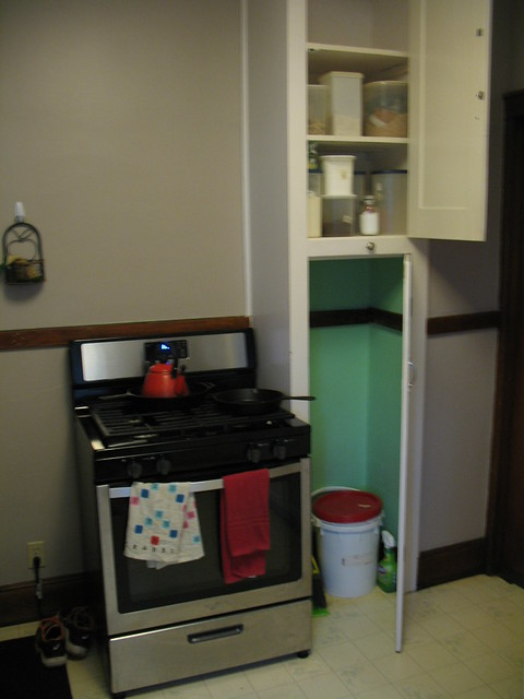 Stove and pantry