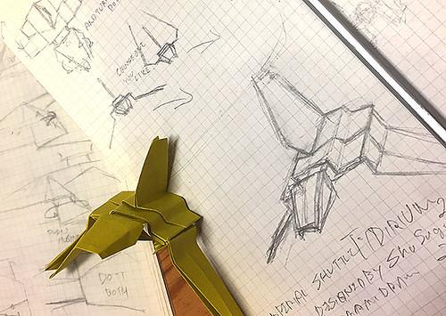 Tydirium origami diagram: I'm on it.