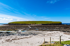 Brough of Birsay Beach, Lighthoose and Palace