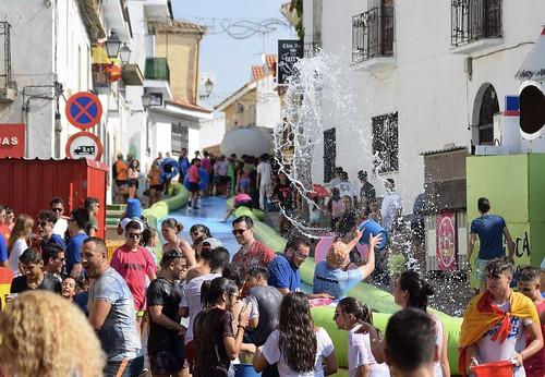 Fiesta del agua en Seseña