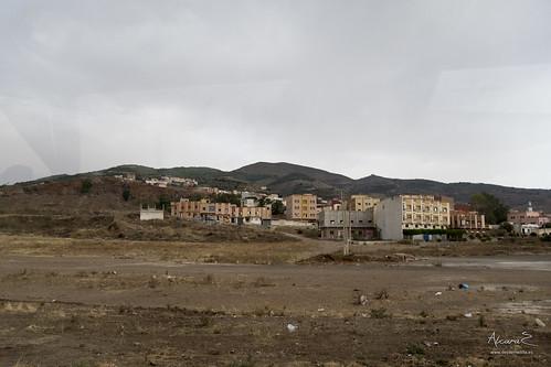 Calles de Beni-Enzar, Marruecos