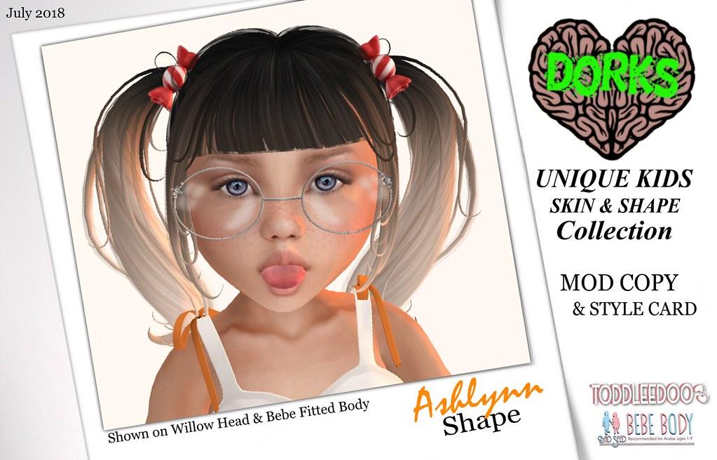 **DoRks** Ashlynn Shape & Style Card - TeleportHub.com Live!