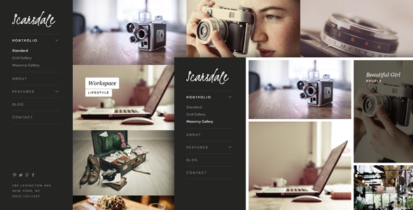 Scarsdale v1.0.1 - Premium Portfolio & Photography Joomla Template