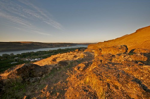 desert favorite karl landscape mountains sun travel water washington goldendale unitedstates