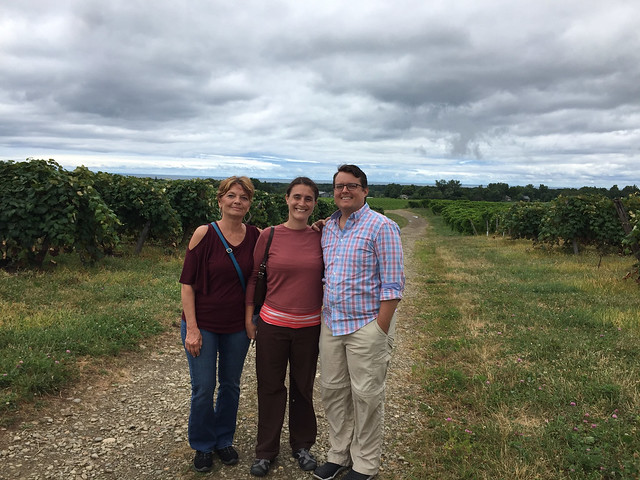 Johnson Estate Vineyard Tour 2