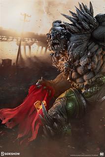 英雄們的末日來臨?! Sideshow Collectibles DC Comics【毀滅日】Doomsday 1/4 比例全身雕像作品