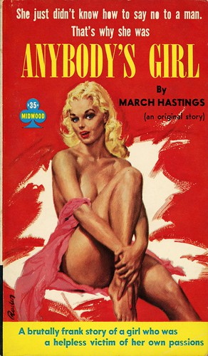 Midwood Books 37 - March Hastings - Anybody's Girl