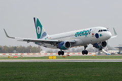 Airbus A320-214(SL) EC-LZD — Evelop Airlines