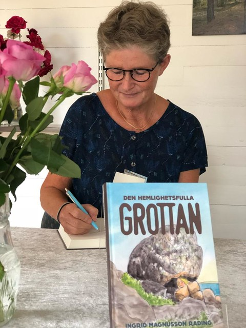 Ingrid Magnusson Rading och Den hemlighetsfulla grottan