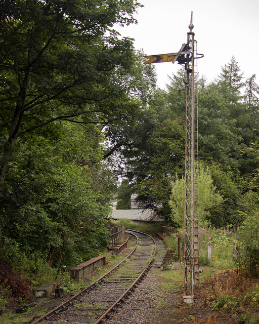 2018 Scotland day 08-03 Keith Station track