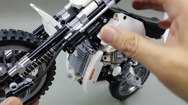 White Knight front suspension