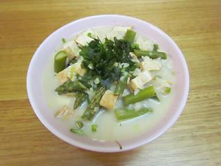 My Thai Soup with Asparagus