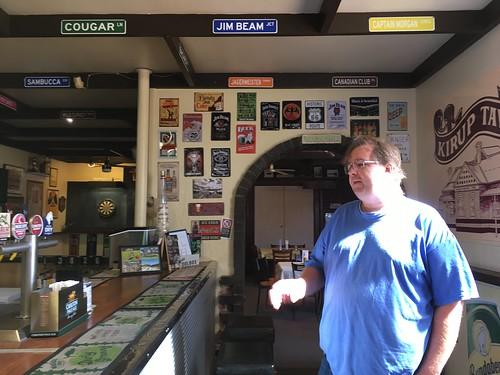 Inside the Front Door of Kirup Tavern