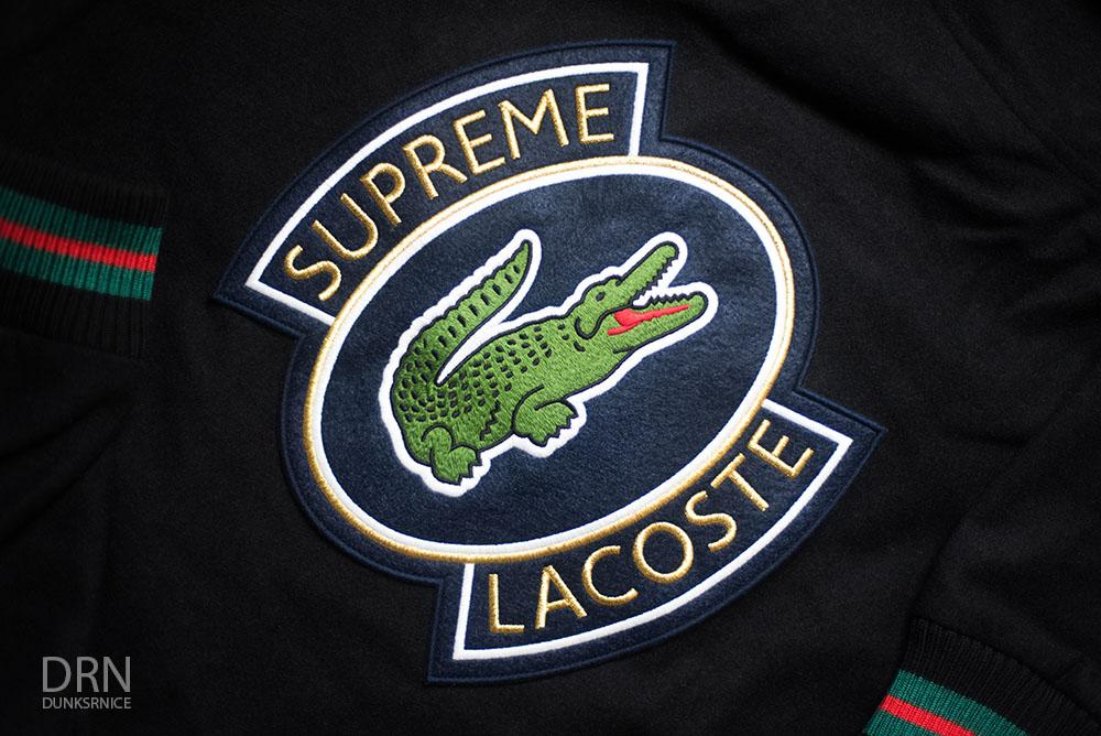 Supreme x Lacoste.