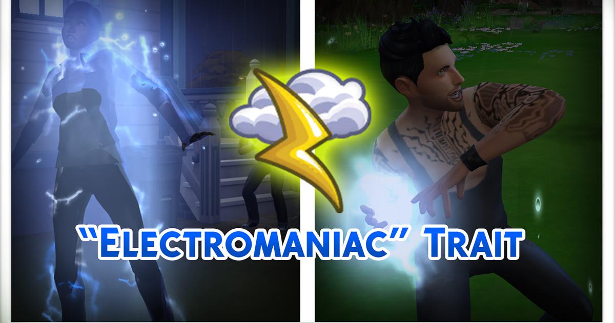 Mod Eletromaníaco É Criado para o The Sims 4