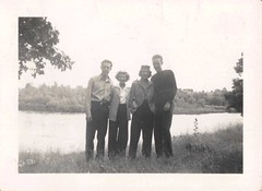 1940 Jim, Betty, Shirley, Bob