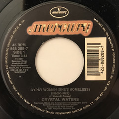 CRYSTAL WATERS:GYPSY WOMAN(SHE'S HOMLESS)(LABEL SIDE-A)