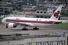 Thai Airways International Boeing 777-2D7 HS-TJA Lamphun