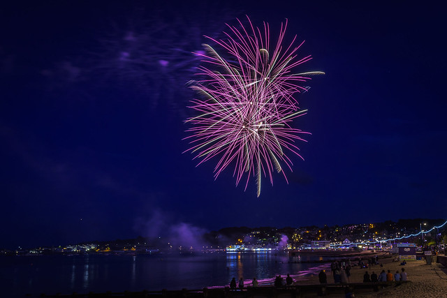Swanage Carnival Fireworks 01-08-2018 08