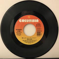 MARIAH CAREY:EMOTIONS(RECORD SIDE-A)