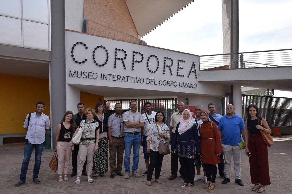 Una delegazione di Alti Funzionari di Ministeri provenienti dalla Tunisia in visita a Città della Scienza