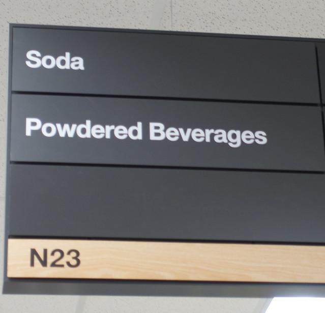Powdered beverages