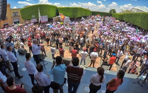 Cierre de Campaña - AMLO en Querétaro