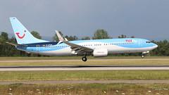 Boeing 737 -8K5 TUIFLY D-ATUR 41664 Mulhouse juillet 2018