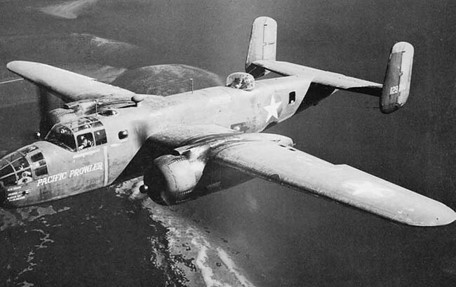 38th Bomb Group B-25 Pacific Prowler