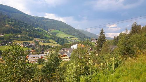 Uitzicht op Bad Kleinkirchheim