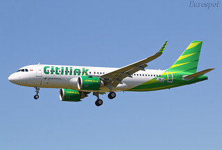 F-WWIH Airbus A320 Citilink