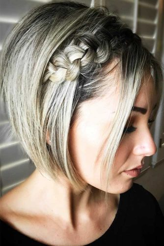 Most Stunning Braided Short Hair Styles To Top Level Of Beauty 5