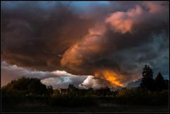 Wolken über Egelsbach