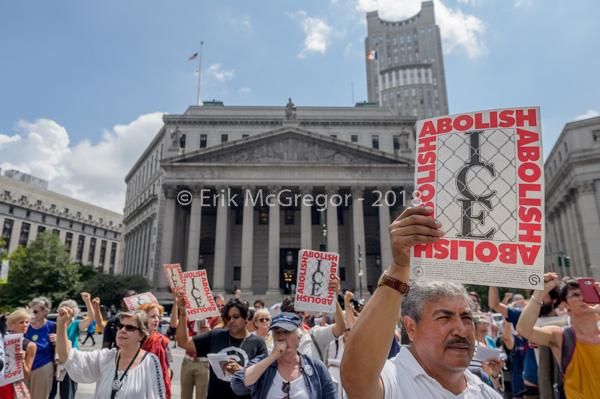 Immigration activist groups file lawsuit against ICE